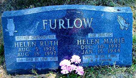 FURLOW, HELEN RUTH - Boone County, Arkansas | HELEN RUTH FURLOW - Arkansas Gravestone Photos