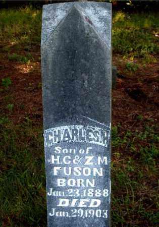 FUSON, CHARLES  H. - Boone County, Arkansas | CHARLES  H. FUSON - Arkansas Gravestone Photos