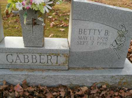GABBERT, BETTY B. - Boone County, Arkansas | BETTY B. GABBERT - Arkansas Gravestone Photos