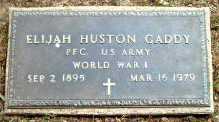 GADDY  (VETERAN WWI), ELIJAH HUSTON - Boone County, Arkansas | ELIJAH HUSTON GADDY  (VETERAN WWI) - Arkansas Gravestone Photos