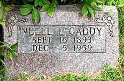 GADDY, NELLE F. - Boone County, Arkansas | NELLE F. GADDY - Arkansas Gravestone Photos