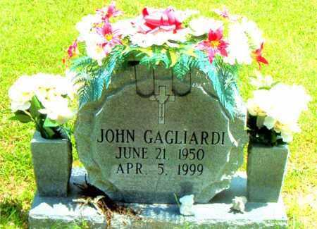 GAGLIARDI, JOHN - Boone County, Arkansas | JOHN GAGLIARDI - Arkansas Gravestone Photos