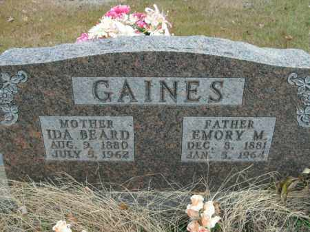 BEARD GAINES, IDA - Boone County, Arkansas | IDA BEARD GAINES - Arkansas Gravestone Photos