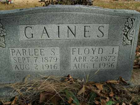 GAINES, FLOYD J. - Boone County, Arkansas | FLOYD J. GAINES - Arkansas Gravestone Photos