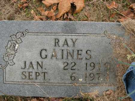 GAINES, RAY - Boone County, Arkansas | RAY GAINES - Arkansas Gravestone Photos