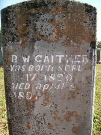 GAITHER, BENJAMINE WILSON - Boone County, Arkansas | BENJAMINE WILSON GAITHER - Arkansas Gravestone Photos