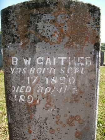 GAITHER, BENJAMINE WILSON - Boone County, Arkansas   BENJAMINE WILSON GAITHER - Arkansas Gravestone Photos