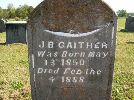 GAITHER, J.B. - Boone County, Arkansas | J.B. GAITHER - Arkansas Gravestone Photos
