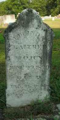 GAITHER, LUCINDA - Boone County, Arkansas | LUCINDA GAITHER - Arkansas Gravestone Photos