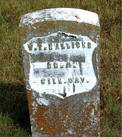 GALLIGER  (VETERAN UNION), WILLIAM  T. - Boone County, Arkansas | WILLIAM  T. GALLIGER  (VETERAN UNION) - Arkansas Gravestone Photos