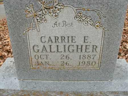 GALLIGHER, CARRIE E. - Boone County, Arkansas | CARRIE E. GALLIGHER - Arkansas Gravestone Photos