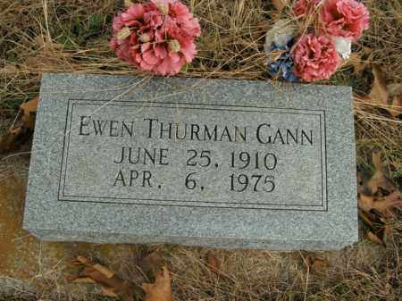 GANN, EWEN THURMAN - Boone County, Arkansas | EWEN THURMAN GANN - Arkansas Gravestone Photos