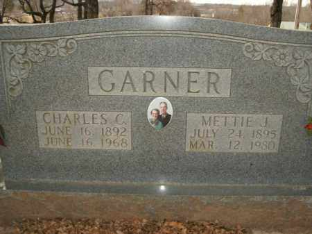 GARNER, METTIE J. - Boone County, Arkansas | METTIE J. GARNER - Arkansas Gravestone Photos