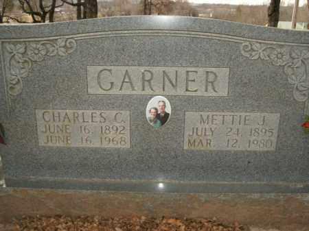 GARNER, CHARLES C. - Boone County, Arkansas | CHARLES C. GARNER - Arkansas Gravestone Photos