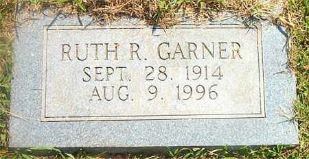 GARNER, RUTH  R. - Boone County, Arkansas | RUTH  R. GARNER - Arkansas Gravestone Photos