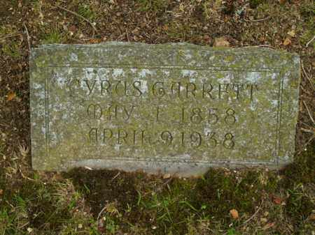 EMERSON, CYRUS GARRETT - Boone County, Arkansas | CYRUS GARRETT EMERSON - Arkansas Gravestone Photos