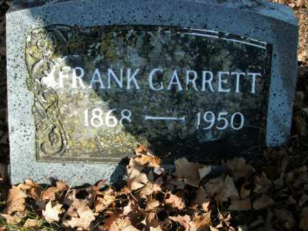 GARRETT, FRANK - Boone County, Arkansas | FRANK GARRETT - Arkansas Gravestone Photos