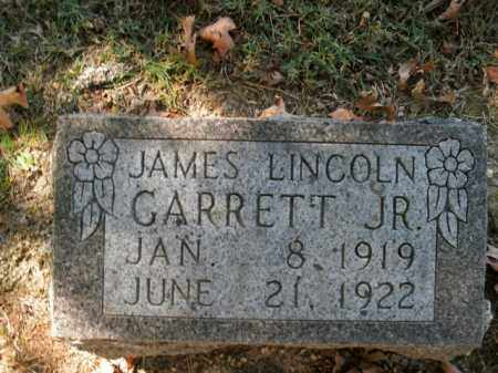 GARRETT, JAMES LINCOLN, JR - Boone County, Arkansas | JAMES LINCOLN, JR GARRETT - Arkansas Gravestone Photos