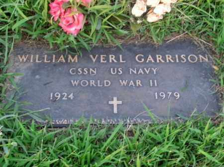 GARRISON  (VETERAN WWII), WILLIAM VERL - Boone County, Arkansas | WILLIAM VERL GARRISON  (VETERAN WWII) - Arkansas Gravestone Photos