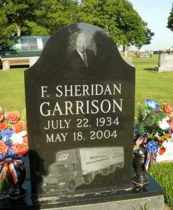 GARRISON, F. SHERIDAN - Boone County, Arkansas | F. SHERIDAN GARRISON - Arkansas Gravestone Photos