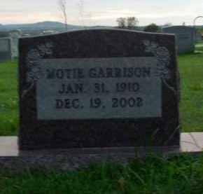 GARRISON, MOTIE - Boone County, Arkansas | MOTIE GARRISON - Arkansas Gravestone Photos