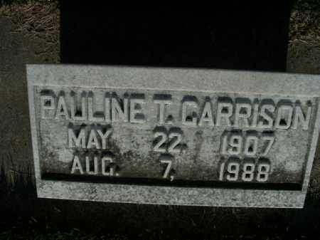 TERRY GARRISON, PAULINE - Boone County, Arkansas | PAULINE TERRY GARRISON - Arkansas Gravestone Photos