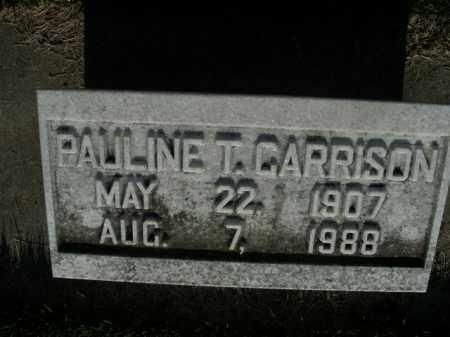 GARRISON, PAULINE T. - Boone County, Arkansas | PAULINE T. GARRISON - Arkansas Gravestone Photos