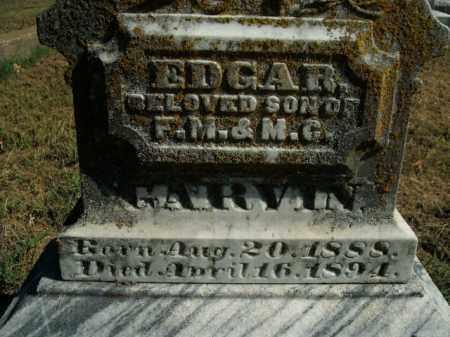 GARVIN, EDGAR - Boone County, Arkansas | EDGAR GARVIN - Arkansas Gravestone Photos