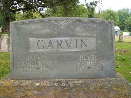 GARVIN, ISAAC CASSELBERRY - Boone County, Arkansas | ISAAC CASSELBERRY GARVIN - Arkansas Gravestone Photos