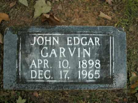 GARVIN, JOHN EDGAR - Boone County, Arkansas | JOHN EDGAR GARVIN - Arkansas Gravestone Photos