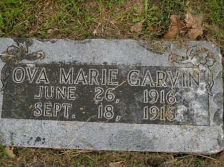 GARVIN, OVA MARIE - Boone County, Arkansas | OVA MARIE GARVIN - Arkansas Gravestone Photos
