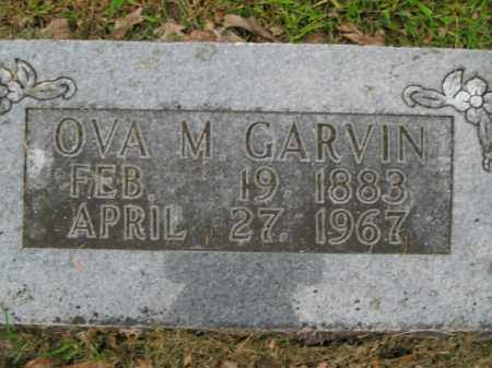 YORK GARVIN, OVA M. - Boone County, Arkansas | OVA M. YORK GARVIN - Arkansas Gravestone Photos