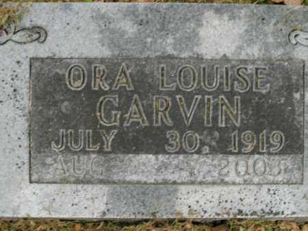 GARVIN, ORA LOUISE - Boone County, Arkansas | ORA LOUISE GARVIN - Arkansas Gravestone Photos