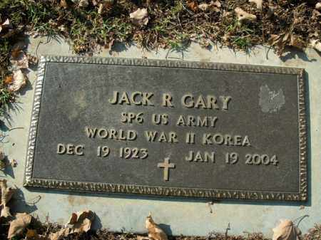 GARY  (VETERAN 2 WARS), JACK R - Boone County, Arkansas | JACK R GARY  (VETERAN 2 WARS) - Arkansas Gravestone Photos