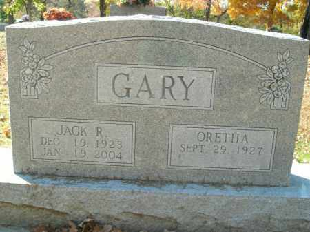 GARY, JACK R. - Boone County, Arkansas | JACK R. GARY - Arkansas Gravestone Photos