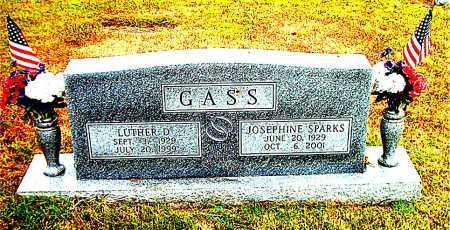 GASS, JOSEPHINE - Boone County, Arkansas | JOSEPHINE GASS - Arkansas Gravestone Photos