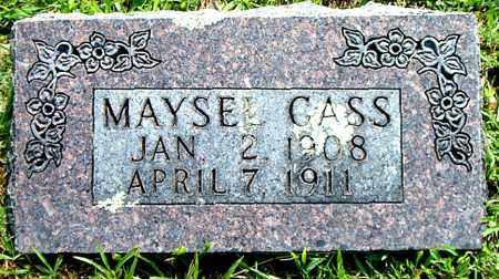 GASS, MAYSEL - Boone County, Arkansas | MAYSEL GASS - Arkansas Gravestone Photos