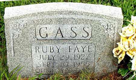 GASS, RUBY FAYE - Boone County, Arkansas | RUBY FAYE GASS - Arkansas Gravestone Photos