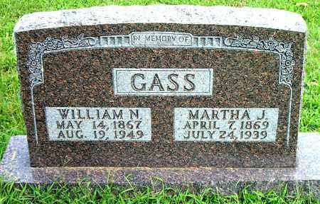 GASS, MARTHA  JANE - Boone County, Arkansas | MARTHA  JANE GASS - Arkansas Gravestone Photos