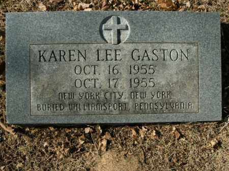 GASTON, KAREN LEE - Boone County, Arkansas | KAREN LEE GASTON - Arkansas Gravestone Photos