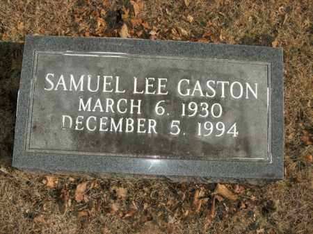 GASTON, SAMUEL LEE - Boone County, Arkansas | SAMUEL LEE GASTON - Arkansas Gravestone Photos