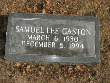 GASTON, SAMUEL LEE - Boone County, Arkansas | SAMUEL LEE GASTON - Arkansas Gravestone Photos