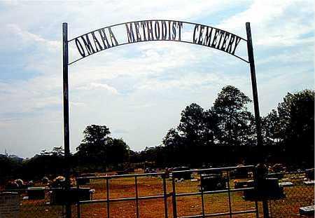 *OMAHA METHODIST CEMETERY GATE,  - Boone County, Arkansas |  *OMAHA METHODIST CEMETERY GATE - Arkansas Gravestone Photos