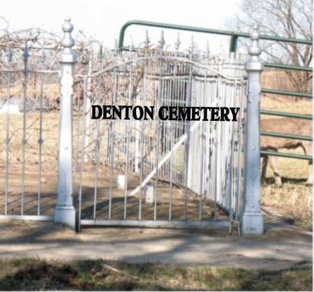 *DENTON CEMETERY ENTRANCE,  - Boone County, Arkansas |  *DENTON CEMETERY ENTRANCE - Arkansas Gravestone Photos