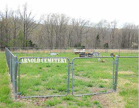 *ARNOLD CEMETERY GATE,  - Boone County, Arkansas |  *ARNOLD CEMETERY GATE - Arkansas Gravestone Photos