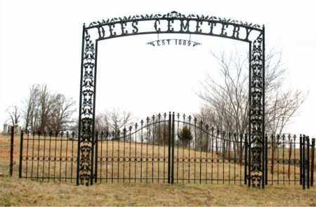 *DEES CEMETERY GATE,  - Boone County, Arkansas |  *DEES CEMETERY GATE - Arkansas Gravestone Photos