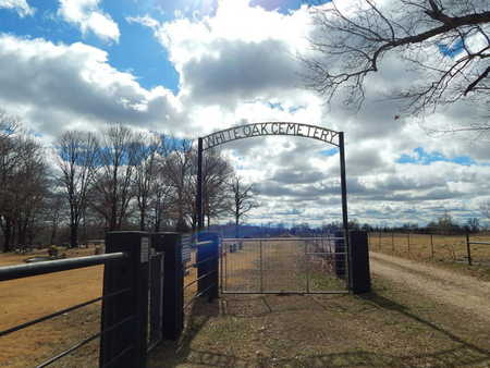 *WHITE OAK CEMETERY GATE, VICKIE - Boone County, Arkansas | VICKIE *WHITE OAK CEMETERY GATE - Arkansas Gravestone Photos