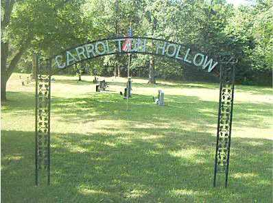 *CARROLTON HOLLOW CEMETERY GAT,  - Boone County, Arkansas |  *CARROLTON HOLLOW CEMETERY GAT - Arkansas Gravestone Photos