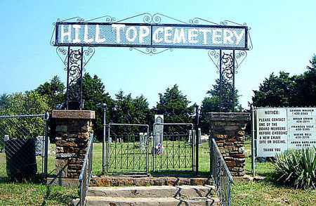 *HILL TOP CEMETERY GATE,  - Boone County, Arkansas |  *HILL TOP CEMETERY GATE - Arkansas Gravestone Photos
