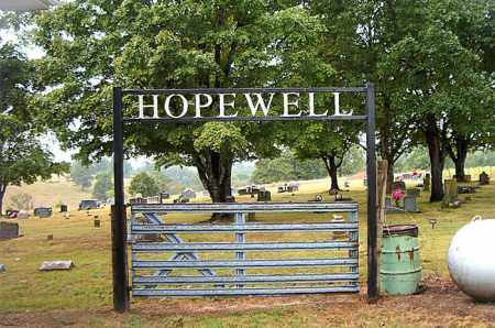 *HOPEWELL CEMETERY GATE,  - Boone County, Arkansas |  *HOPEWELL CEMETERY GATE - Arkansas Gravestone Photos